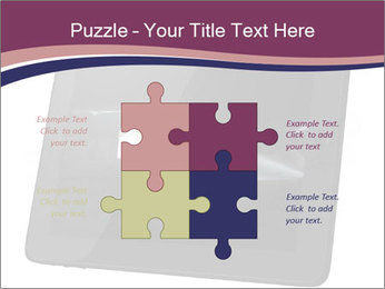 Tabley with Handshake Image PowerPoint Templates - Slide 43