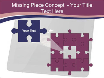 Tabley with Handshake Image PowerPoint Templates - Slide 45