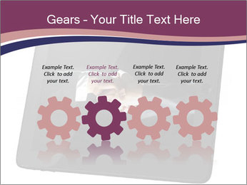Tabley with Handshake Image PowerPoint Templates - Slide 48