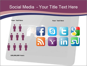 Tabley with Handshake Image PowerPoint Templates - Slide 5