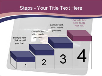 Tabley with Handshake Image PowerPoint Templates - Slide 64
