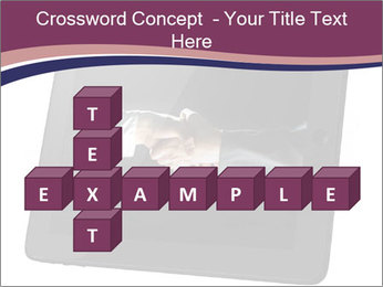 Tabley with Handshake Image PowerPoint Templates - Slide 82