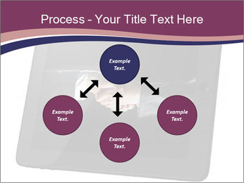 Tabley with Handshake Image PowerPoint Templates - Slide 91