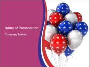 American Balloons PowerPoint Templates
