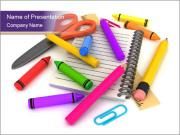 Drawing Materials PowerPoint Templates