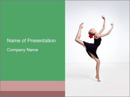 Traditional Spanish Dancer Powerpoint Template Backgrounds Google