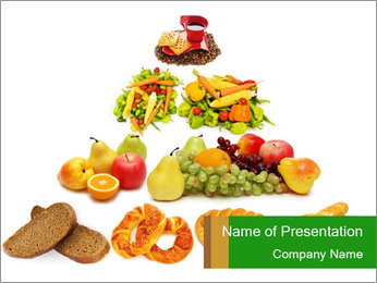 My Food Pyramid PowerPoint Template