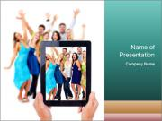 Digital Tablet Camera Шаблоны презентаций PowerPoint
