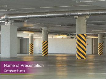 Big Parking Garage PowerPoint Template