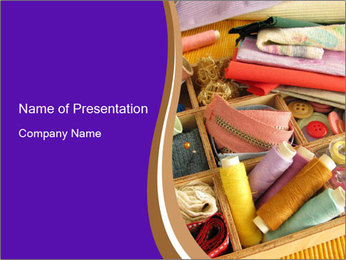 Tailor's Shop PowerPoint Template