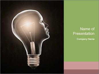 Creative Human Brain PowerPoint Template
