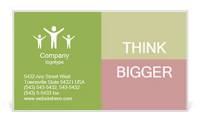 0000065455 Business Card Template