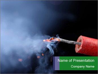 Dangerous Firecracker PowerPoint Template