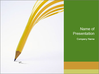 Creative Pencil PowerPoint Template