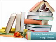 Collection of School Books PowerPoint Templates