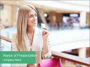 Woman and consumerism PowerPoint Templates
