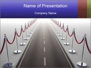 Endless VIP Road PowerPoint Templates