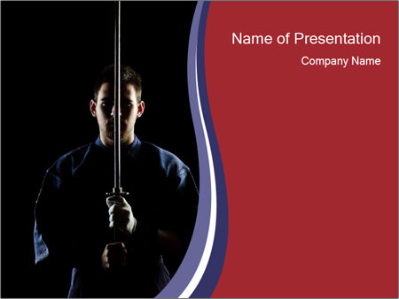 Concentration in martial art powerpoint template backgrounds id concentration in martial art powerpoint template toneelgroepblik Choice Image