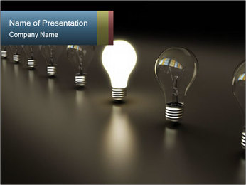 Idea Innovation PowerPoint Template