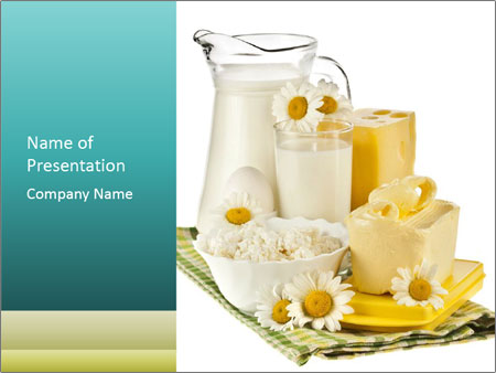Dairy products from the village powerpoint template backgrounds id dairy products from the village powerpoint template toneelgroepblik Image collections