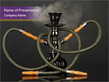 Shisha Smoking Powerpoint Template Backgrounds Google Slides Id