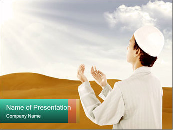 Religion in Asia PowerPoint Template