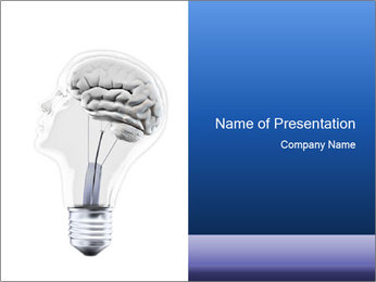 Man's Knowledge PowerPoint Template