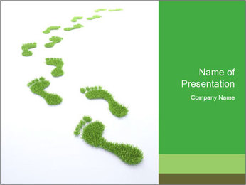 Eco Impact PowerPoint Template