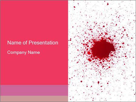 murder case powerpoint template & backgrounds id 0000067434, Modern powerpoint