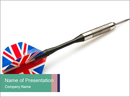 Uk darts arrow powerpoint template backgrounds id 0000067890 uk darts arrow powerpoint templates toneelgroepblik Image collections