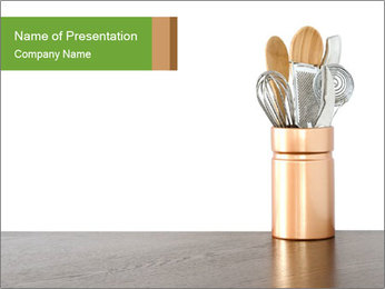 Kitchen Equipment PowerPoint Template