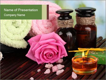 oriental essential oils powerpoint template & backgrounds id, Modern powerpoint