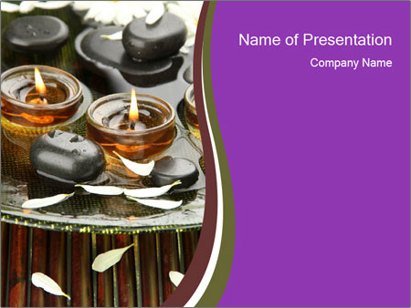 Oriental Spa Powerpoint Template Backgrounds Google Slides Id