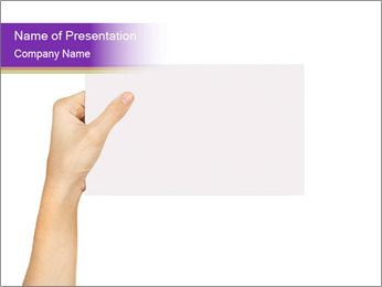 Blank Billboard PowerPoint Template