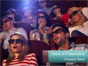 Fun 3D Cinema Modelos de apresentações PowerPoint