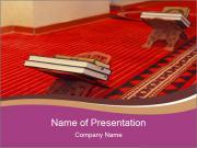 Islamic Praying Room PowerPoint Templates
