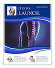 Human Spinal Column Flyer Templates