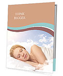 Woman Sleep Presentation Folder
