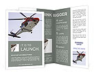 Rescue Helicopter Brochure Template