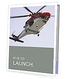 Rescue Helicopter Presentation Folder
