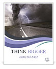 Dangerous Tornado Poster Template