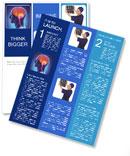 Human Brain Structure Newsletter Template