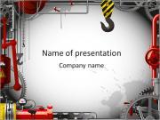 Tubos Indústria Modelos de apresentações PowerPoint