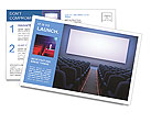 Cinema Hall Postcard Templates