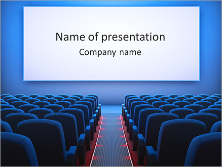 Cinema hall powerpoint template backgrounds google slides id cinema hall powerpoint template toneelgroepblik Choice Image