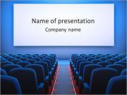 Sala de Cine Plantillas de Presentaciones PowerPoint