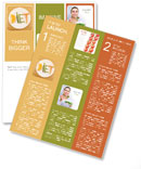 Healthy Fruit Diet Newsletter Template