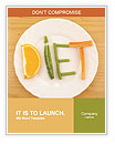 Healthy Fruit Diet Word Template