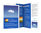 White Cloud Brochure Template