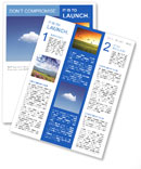 White Cloud Newsletter Templates